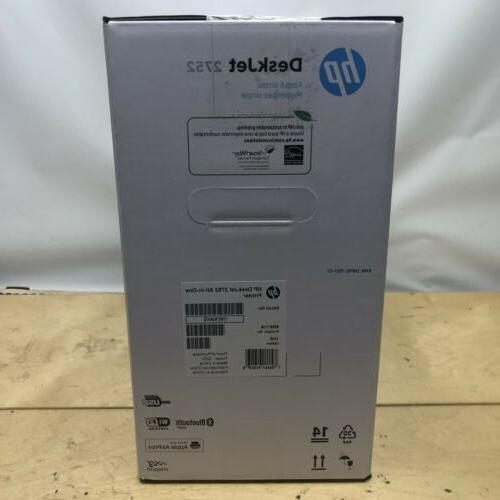 HP DeskJet 2752 Wireless All in Inkjet Ready