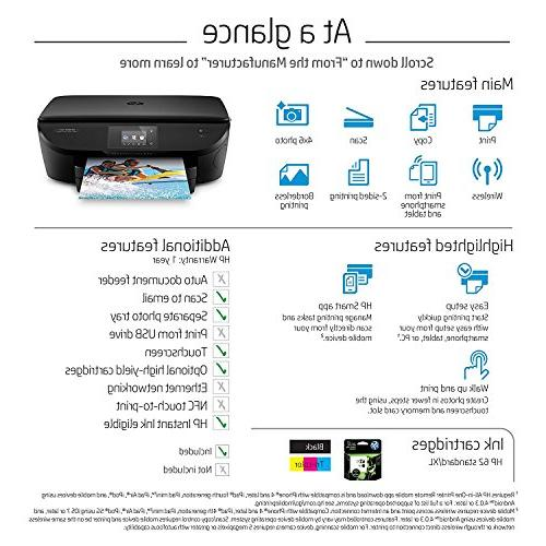HP ENVY 5660 All-in-One Photo Mobile Instant Ink & Amazon Replenishment