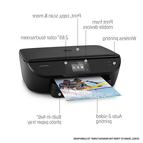 HP ENVY 5660 All-in-One Printer Mobile Printing, Ink & Replenishment