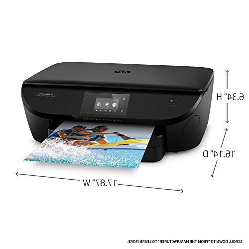 HP ENVY 5660 Wireless All-in-One Printer with Mobile Printing, HP Instant Ink & Amazon Dash Replenishment ready