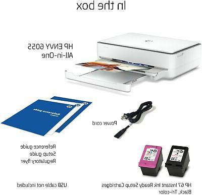 HP ENVY Wireless All-In-One Inkjet - White