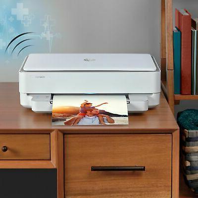 HP - ENVY 6055 Wireless Inkjet
