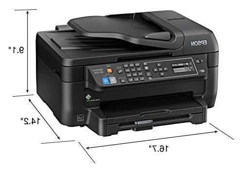 Epson WF-2750 Wireless Color Printer Copier & Fax, Amazon Dash Replenishment