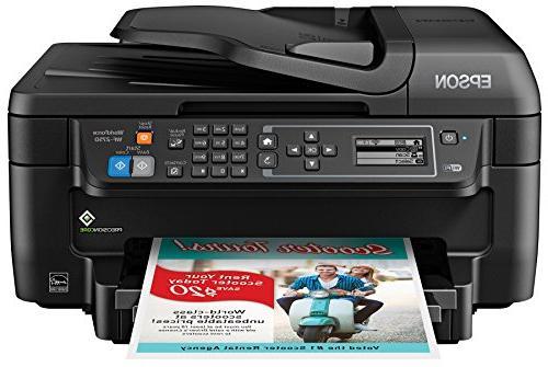 Epson Color Printer with Copier Fax, Dash Replenishment Enabled