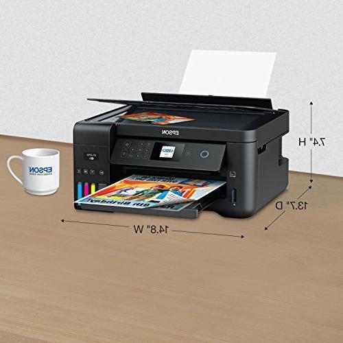 Epson Wireless Color Printer and Copier