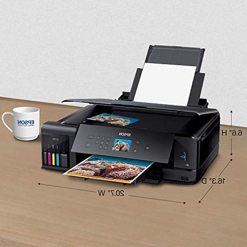 EcoTank Wide-Format 5-Color Scanner,