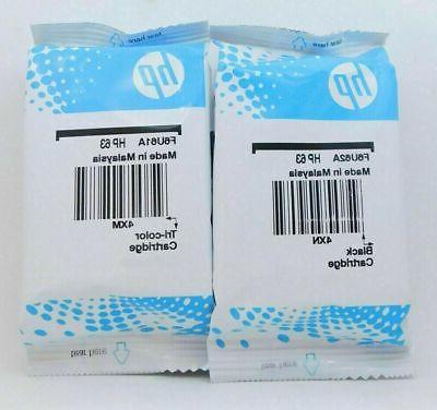Genuine 63 Original Cartridges-HP5255 3831 5252 printer