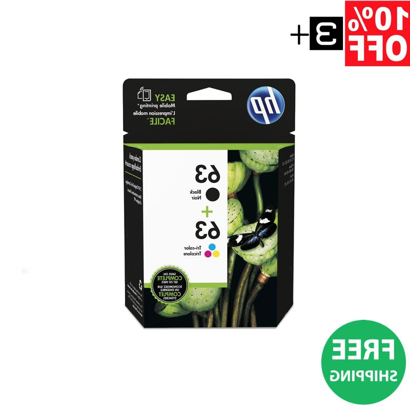New! Genuine Combo Pack 1-Color Cartridges |
