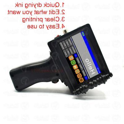 US 600DPI Ink QR Code Machine
