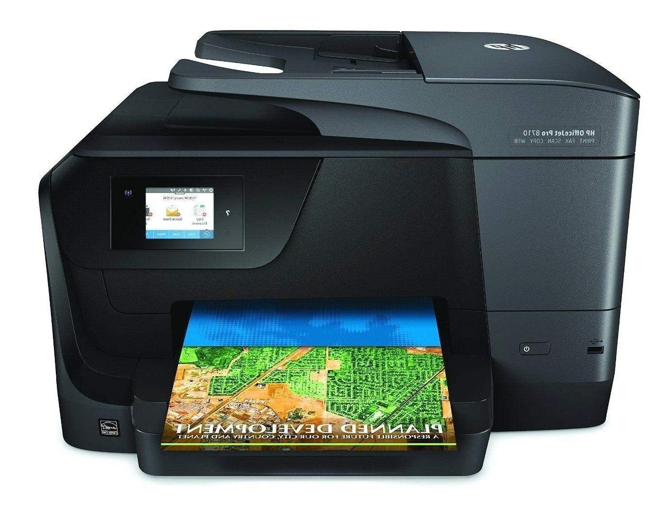 HP Pro Wireless All Photo Printer Printing