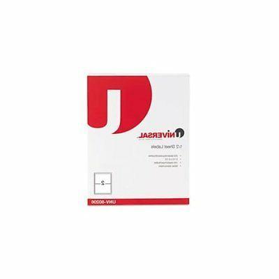 Universal Inkjet/Laser Printer Labels, 5 1/2 x 8 1/2, White,