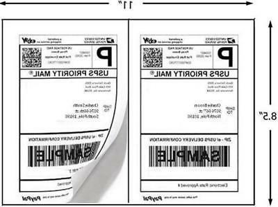 Laser/Inkjet Half Sheet Labels