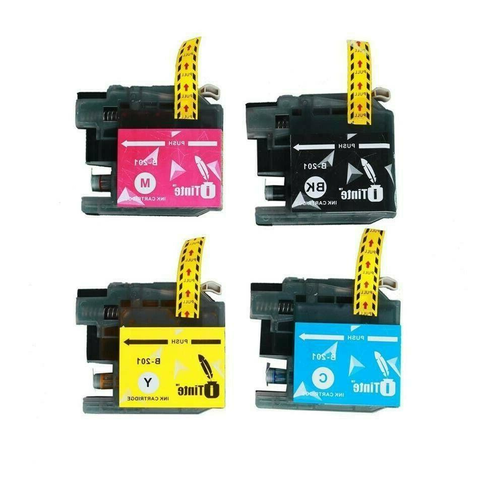 LC201XL Ink Cartridges for Brother LC201 MFC 4 New