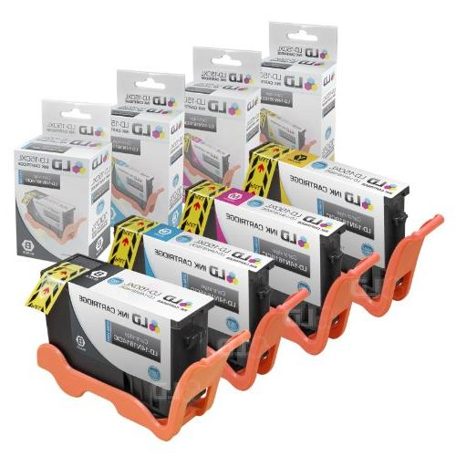 LD Compatible Lexmark 150XL Set 4 High Yield Inkjet 1 Black 1 Cyan 14N1615, 1 Magenta and for S315, & Printers