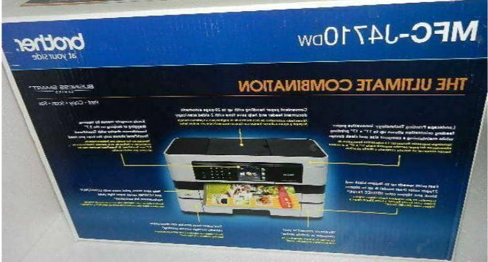 MFCJ4410DW Smart with to Printing and
