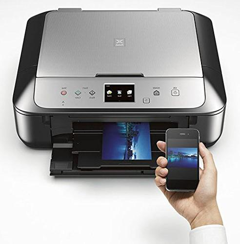 Canon Wireless Printer with Scanner Copier: Mobile Printing Airprint Google compatible