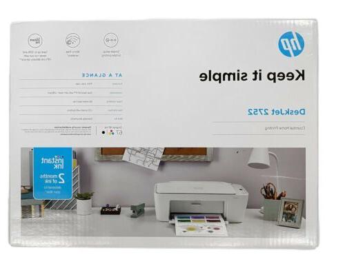 new 2752 2622 deskjet printer copy scan
