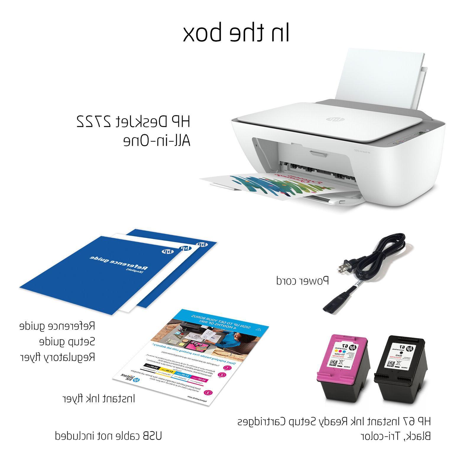 NEW HP All-in-One Inkjet Printer – Instant