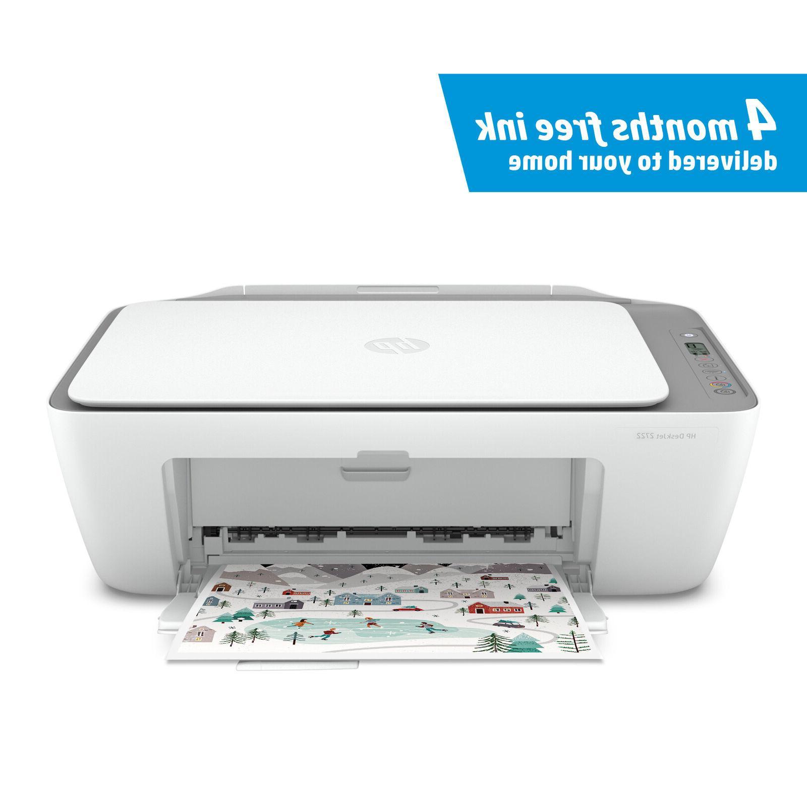 NEW HP DeskJet 2722 Printer Instant Ready