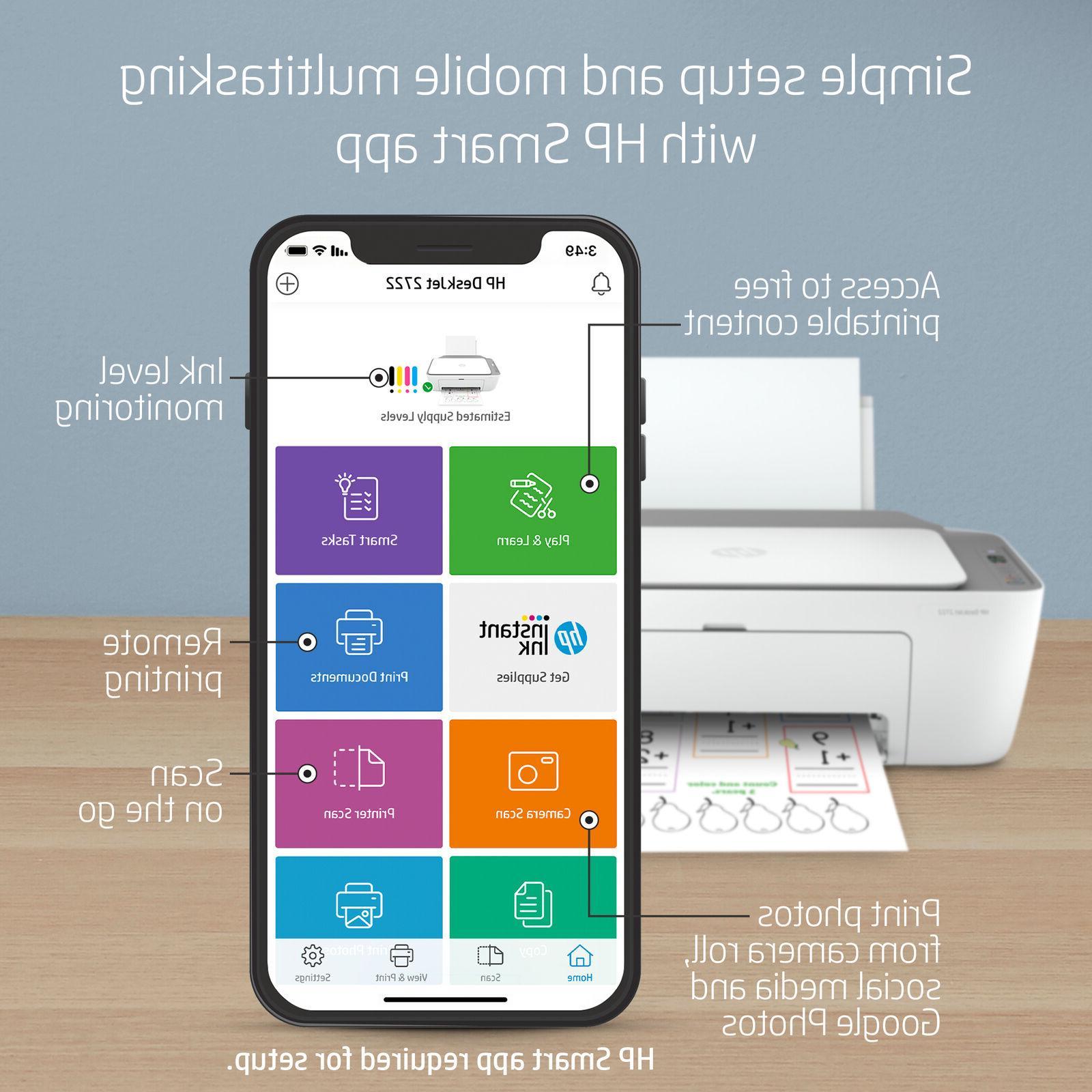 NEW DeskJet All-in-One Wireless Inkjet Printer Ready