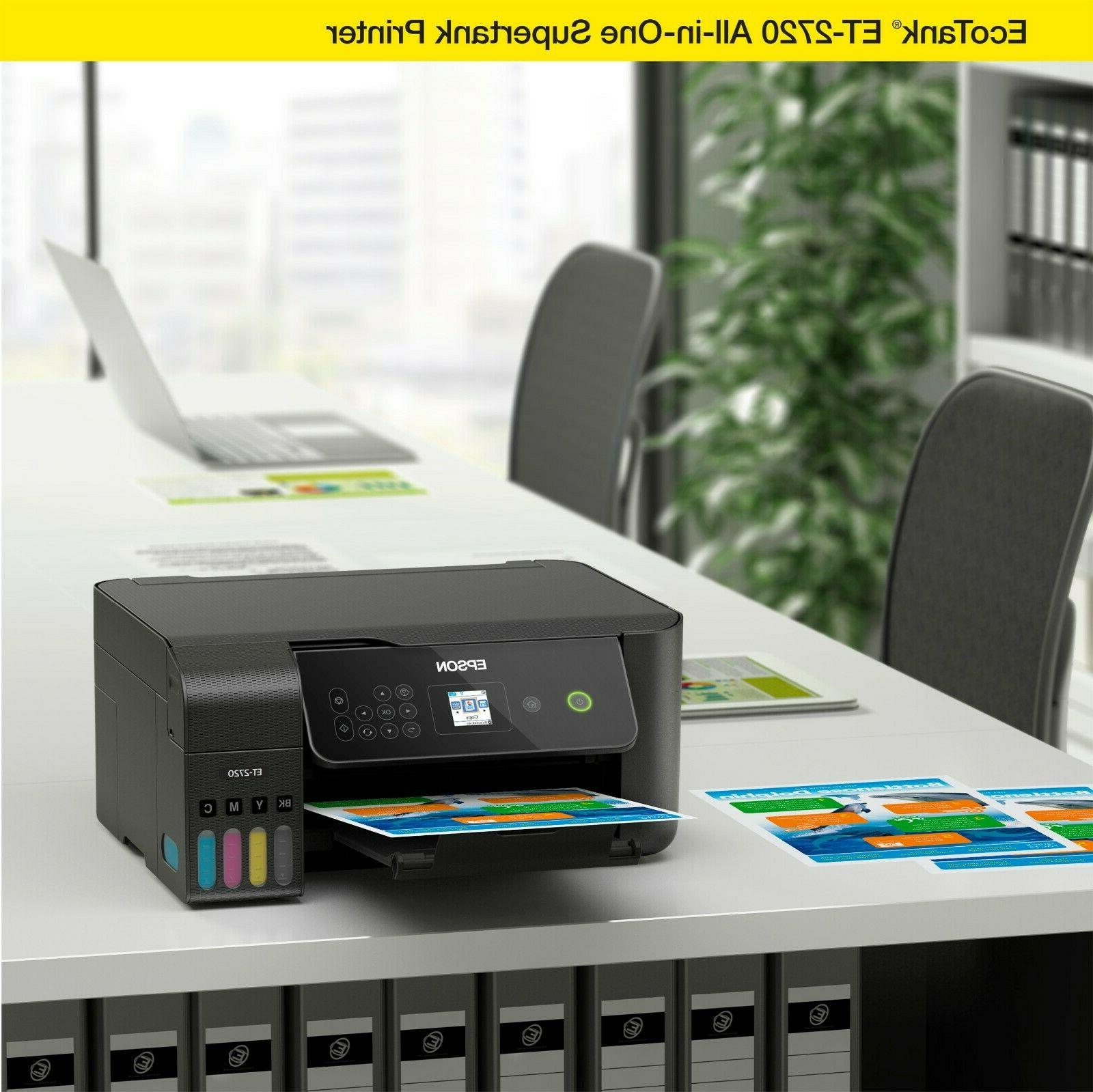❗NEW❗ ECOTANK Wireless All-In-One Supertank Color Printer -