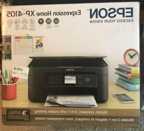 NEW Expression XP-4105 All-In-One Inkjet
