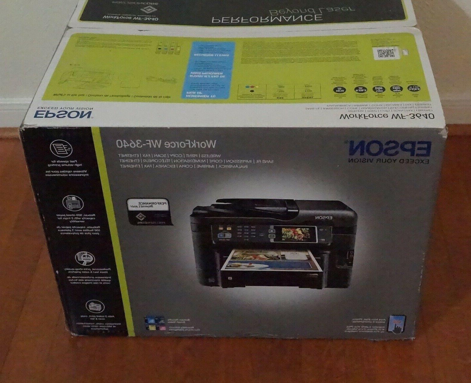 new in box workforce wf 3640 wireless