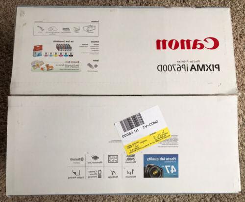 pixma ip6700d photo inkjet printer open box