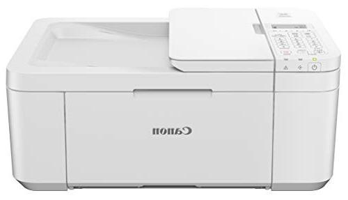 Canon TR4520 Wireless All One Printer Printing, White