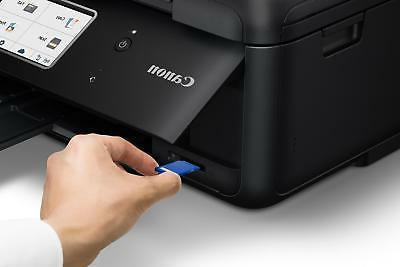 Canon - Wireless All-In-One Printer - Black