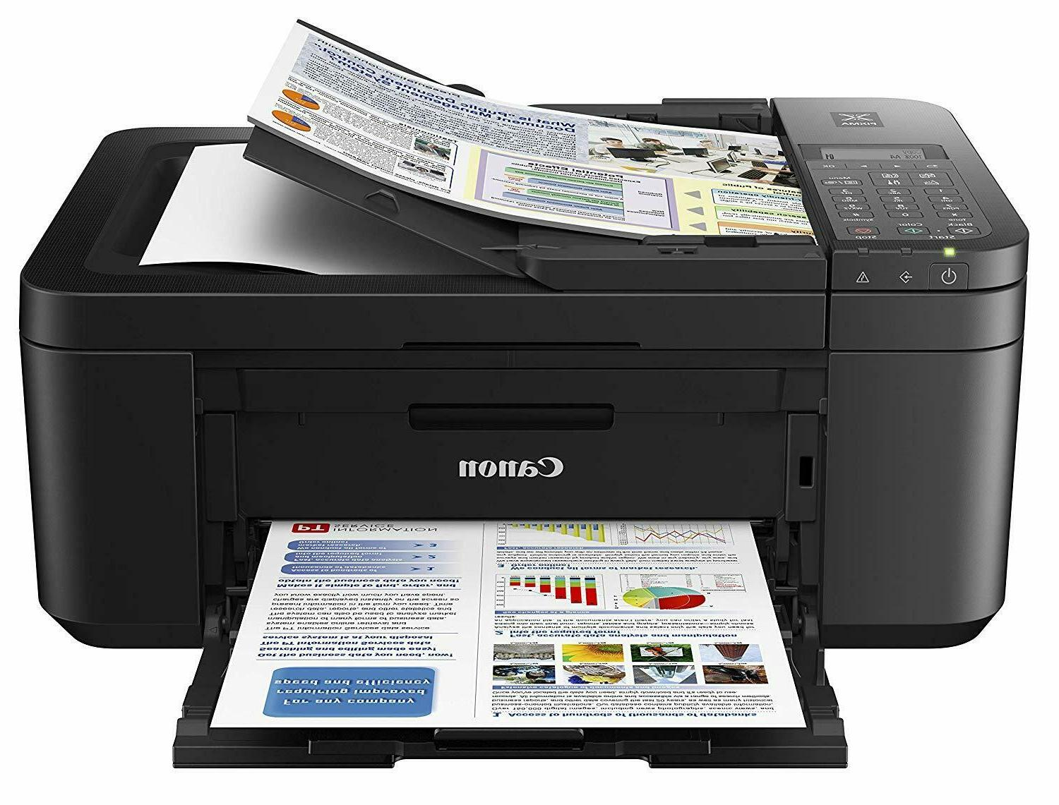 Canon Wireless Fax Printer All-in-One Inkjet Mobile