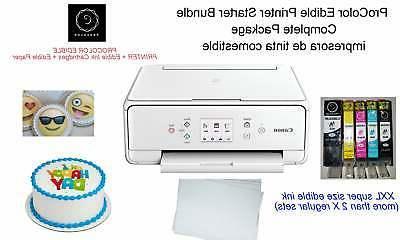 printer bundle with white printer xxl edible