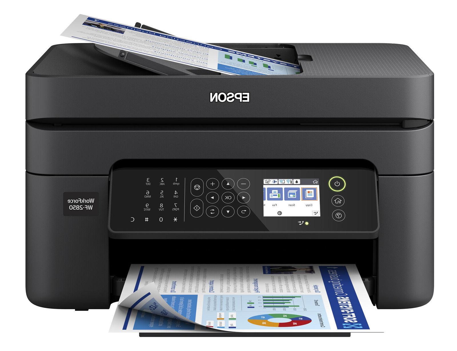 Epson Machine Fax Copier Wireless Home Office