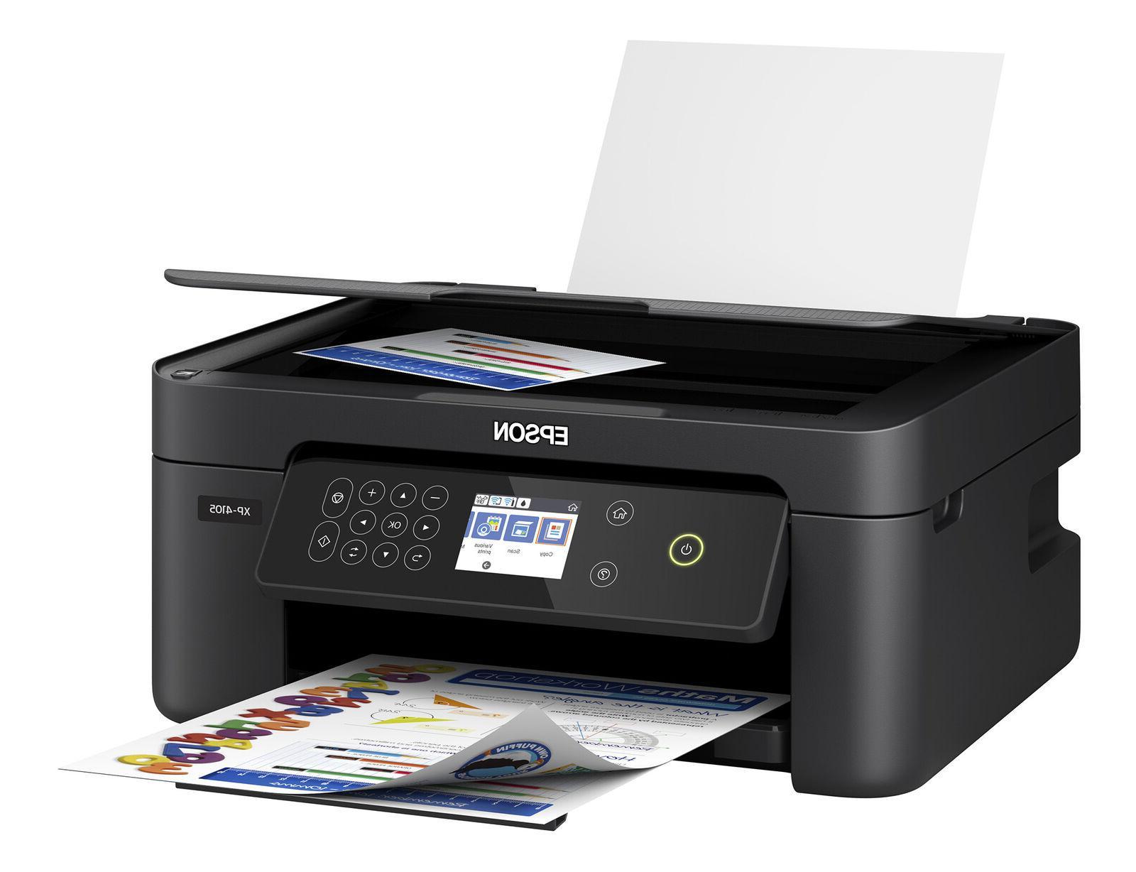Epson Printer Machine Scanner Copier All-In-One Wireless
