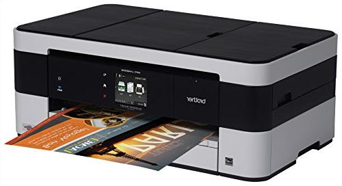 Brother MFC-J4420DW Color Inkjet Printer, Automatic Duplex Printing, Dash Replenishment