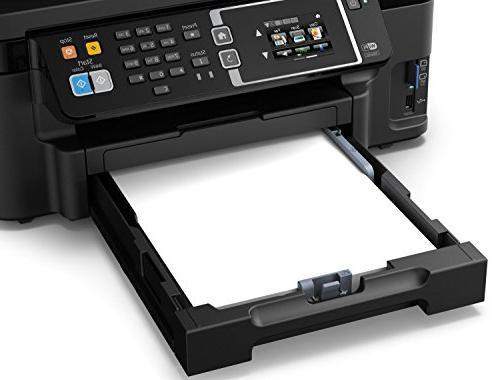 Epson WF-3620 Direct Color Inkjet Printer, Dash