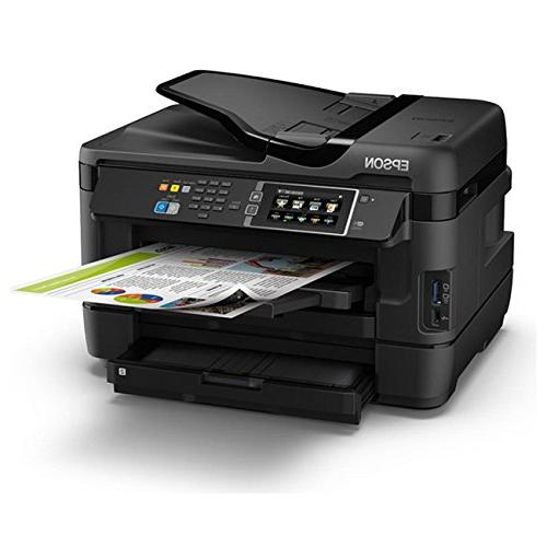 Epson WF-3620 Direct Inkjet Printer, Copier, Dash