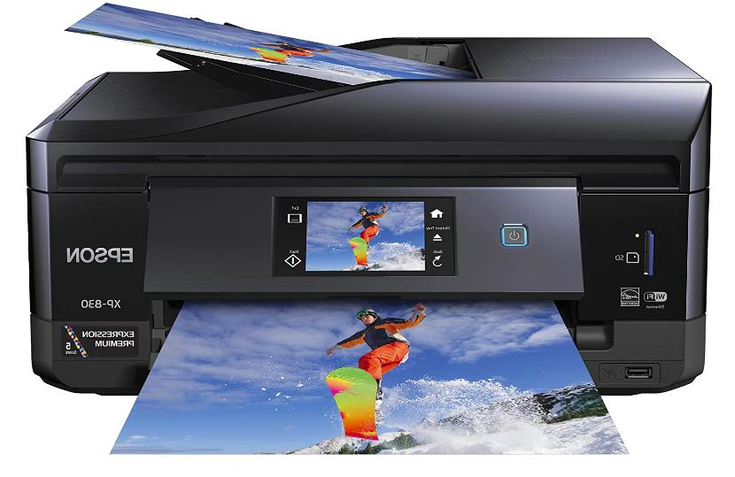 xp 830 wireless color photo printer