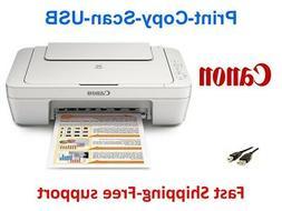 NEW Canon 2522/2520 All-in-One Printer-Scan-Copy+Free USB-Su