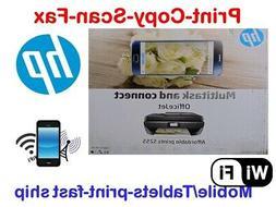 NEW HP OfficeJet 5255/5252 Printer-Scan-Copy-Fax-Wireless+Wi