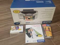 NEW Epson Stylus Photo R800 Inkjet Printer Bonus Paper and U