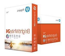 HP Printer Paper, BrightWhite24, 8.5 x 11, Letter, 24lb, 97