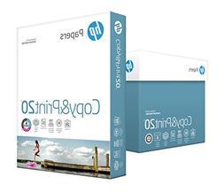 HP Printer Paper, Copy and Print20, 8.5 x 11, Letter, 20lb,