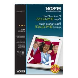Epson Premium Photo Paper SEMI-GLOSS