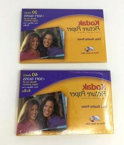 Kodak Picture Paper Soft Gloss 60 Sheets For Inkjet Printers