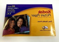 Kodak Picture Paper 4x6 in. Soft Gloss 40 Sheets for Inkjet