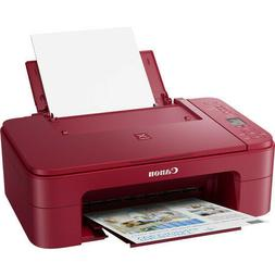 Canon Pixma TS3320 Inkjet All-in-One Printer - RED