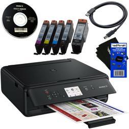 Canon PIXMA TS5020 All-in-One Wireless Inkjet Printer,Black