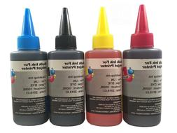 Premium Dye Bulk refill ink for Brother inkjet printer 4 col