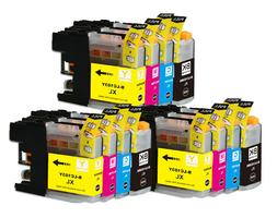 printer ink pack for lc103xl lc101 brother